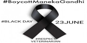 Black day for Veterinary Profession