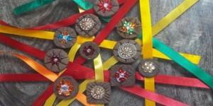 This year celebrate Rakhi with Eco friendly cow dung rakhis