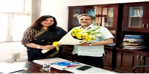 डॉक्टर ओ पी चौधरी ने सम्भाला भारतीय जीव जंतु कल्याण बोर्ड के चेयरमैन का कार्यभार
