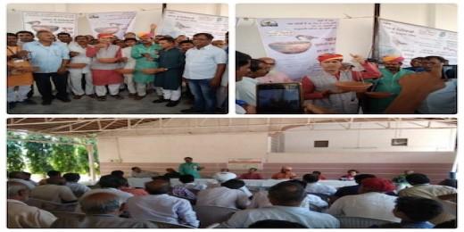 अकाल से निपटने राजस्थान में समस्त महाजन ने गौशलाओं को गोद लिया