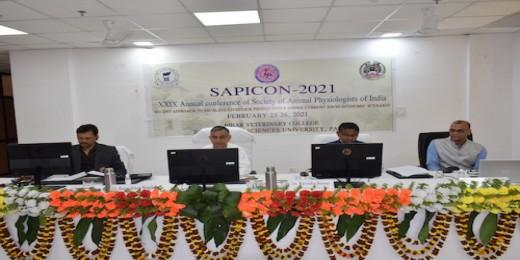 सोसाइटी ऑफ़ एनिमल फिजियोलॉजिस्ट ऑफ़ इंडिया का वार्षिक सम्मेलन आयोजित